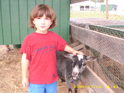 Jonah and goat
