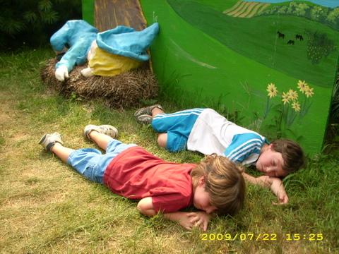 Asleep with Little Boy Blue