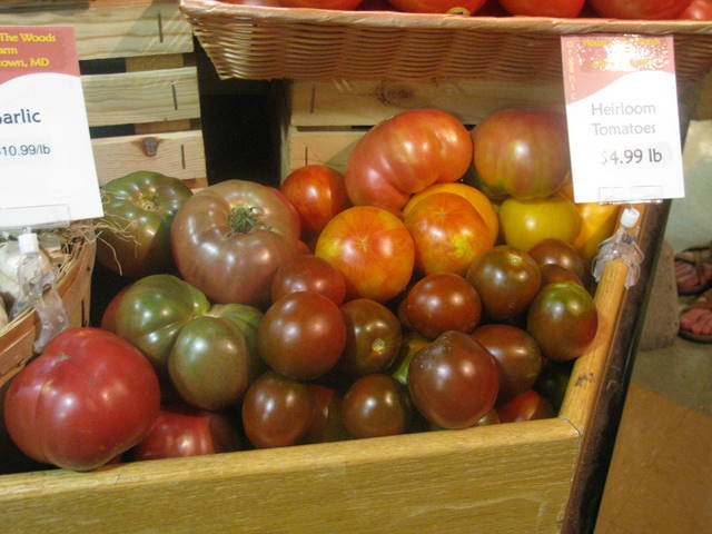 tomatoes at CM