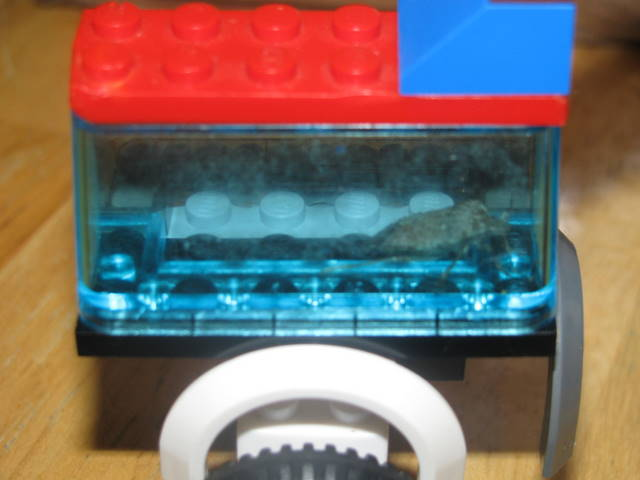 lego stinkbug closeup